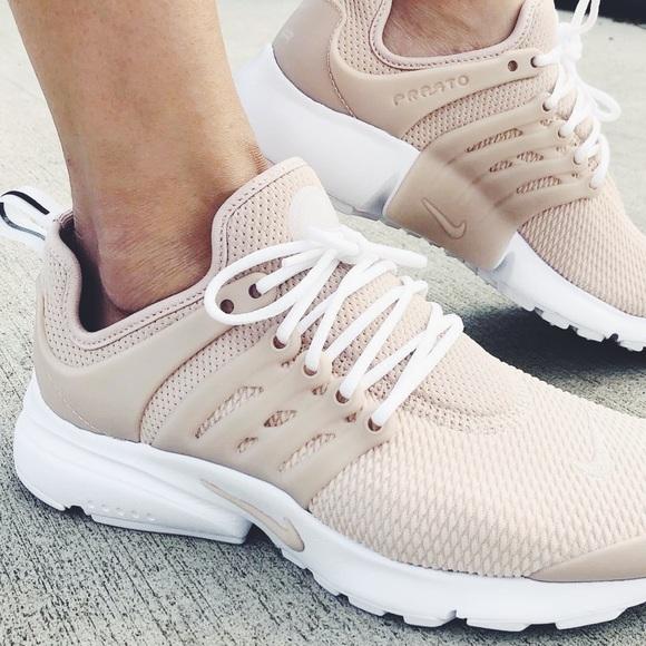 new product c29ea c3897 Nike Desert Sand Air Presto Sneakers